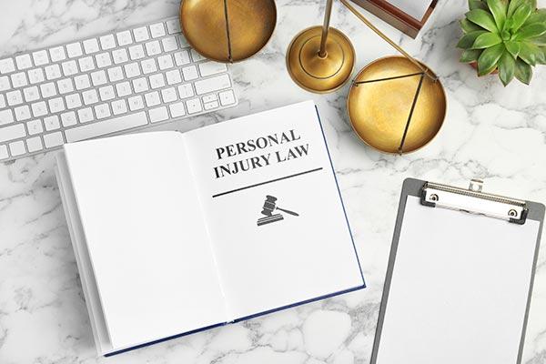 Libro de leyes de lesiones personales