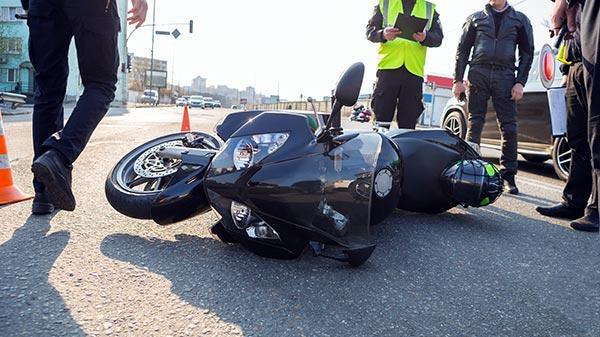 Accidente de motocicleta en Chicago, IL