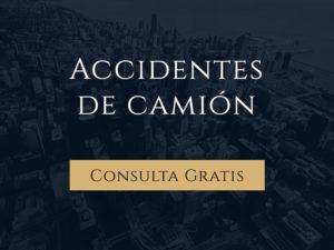 Accidentes de camión